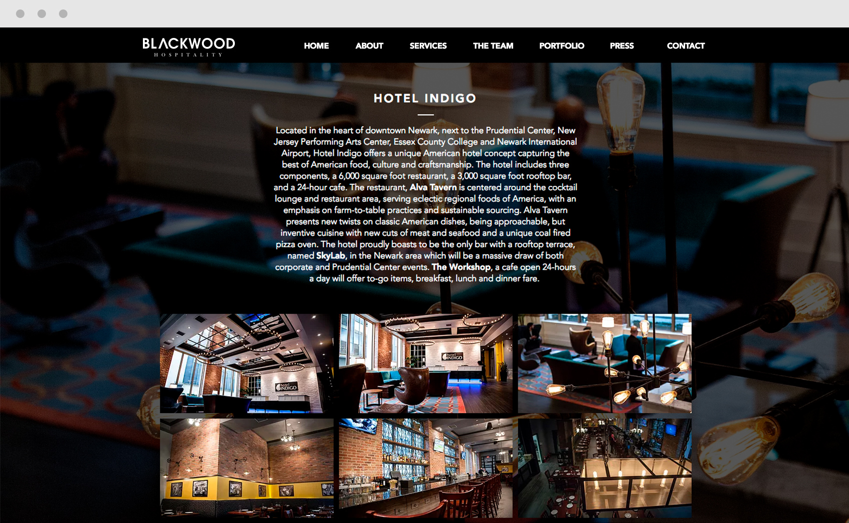 Hotel Indigo Location and Summary by Blackwood Hospitality NYC
