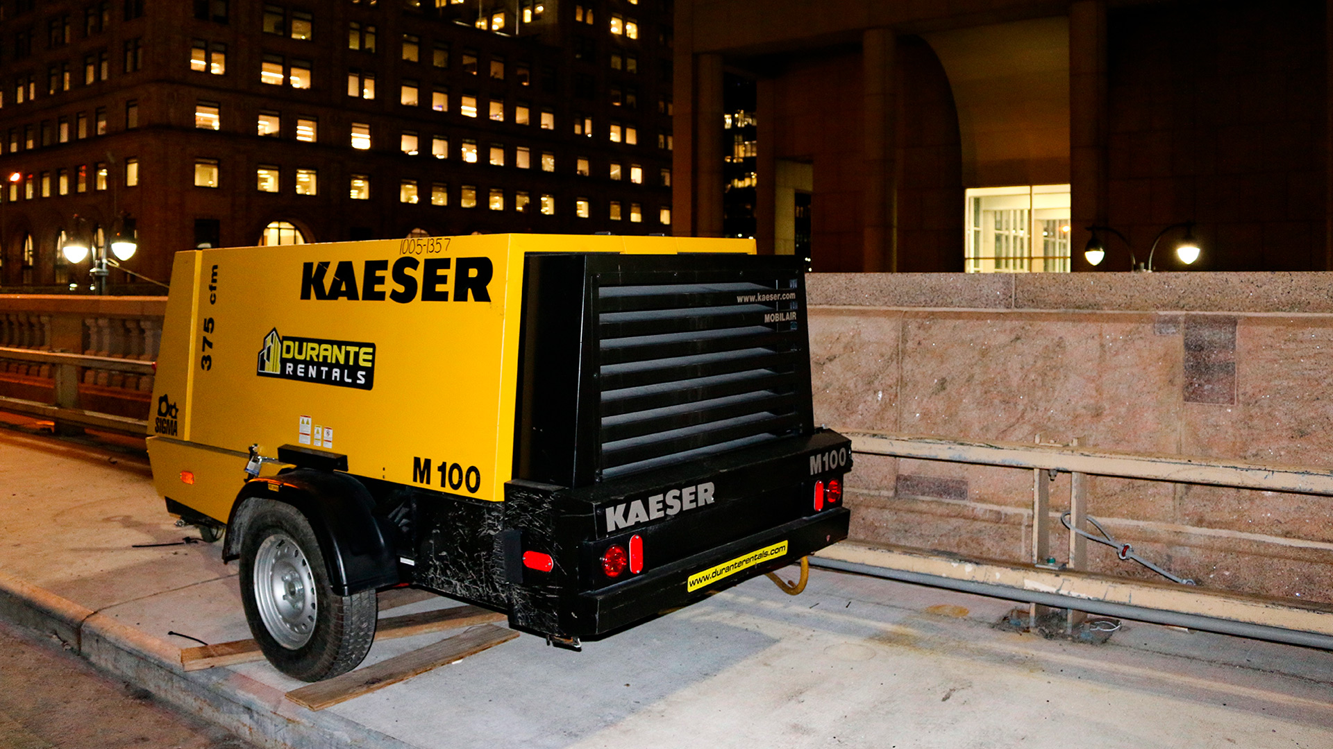 Kaeser Compressor Construction on top of Grand Central
