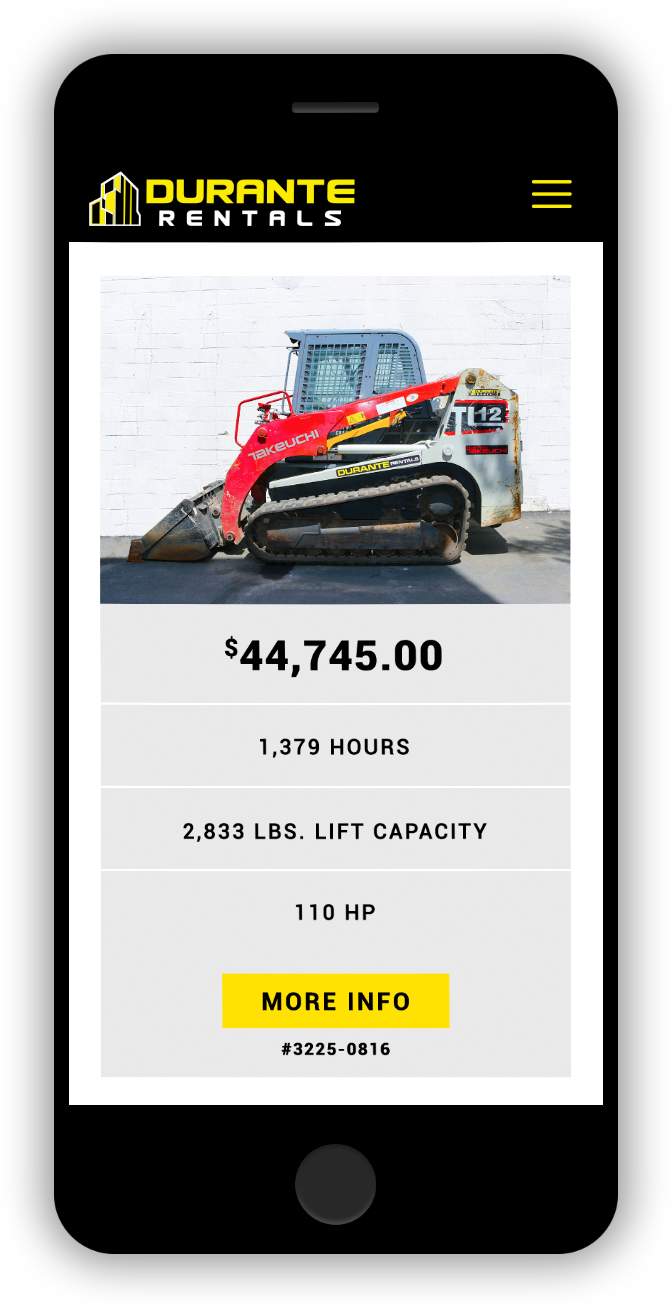 Used Takeuchi Track Loader for Sale Website