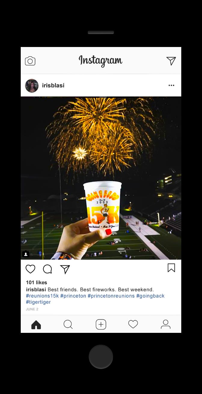 Princeton Reunion Fireworks 2018