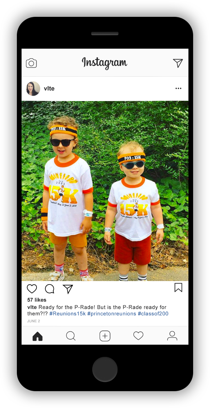 Kids at Princeton Reunion Parade 2018